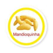 Ficha metálica de alimentos Mandioquinha