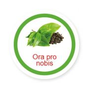Ficha metálica de alimentos Ora Pro Nobis
