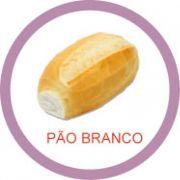 Ficha metálica de alimentos Pão branco