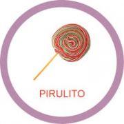 Ficha metálica de alimentos Pirulito