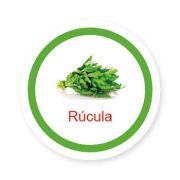 Ficha metálica de alimentos Rúcula