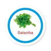 Ficha metálica de alimentos Salsinha