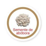 Ficha metálica de alimentos Semente de Abobora