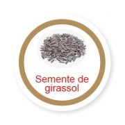 Ficha metálica de alimentos Semente de Girassol