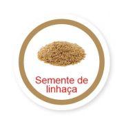 Ficha metálica de alimentos Semente de Linhaça