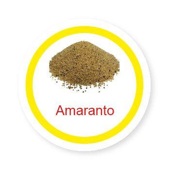 Ficha metálica de alimentos Amaranto   - Divertimente