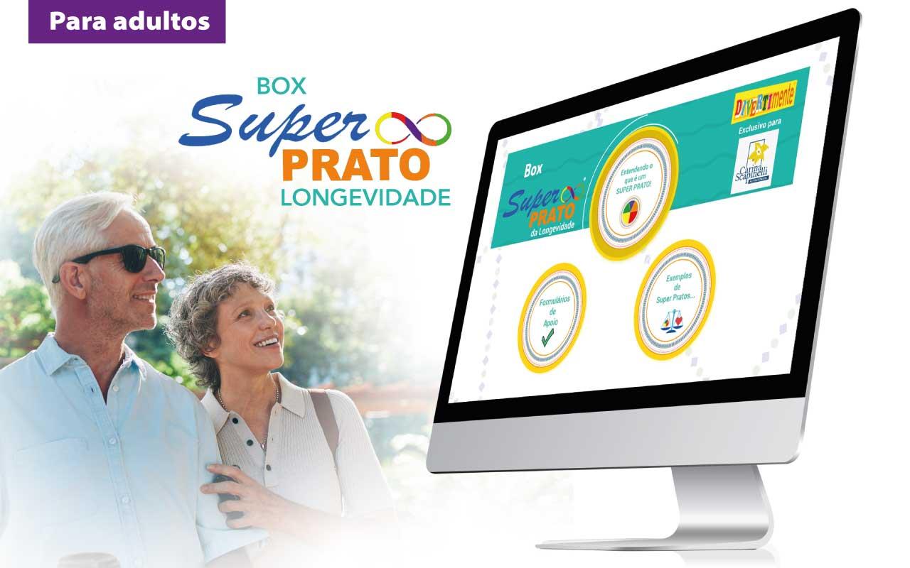 Box Super Prato Longevidade Digital - Para Adultos  - Divertimente