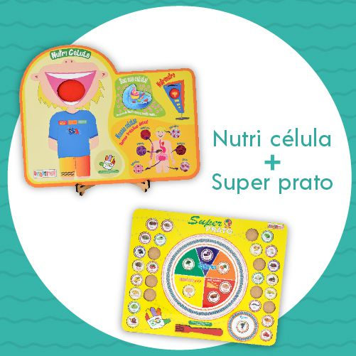 Kit 03 - Nutri Célula + Super Prato  - Divertimente