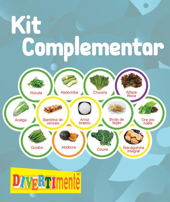 Kit Complementar de alimentos  - Divertimente