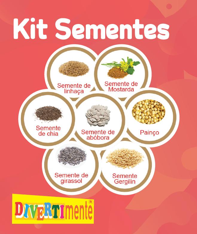 Kit Sementes   - Divertimente