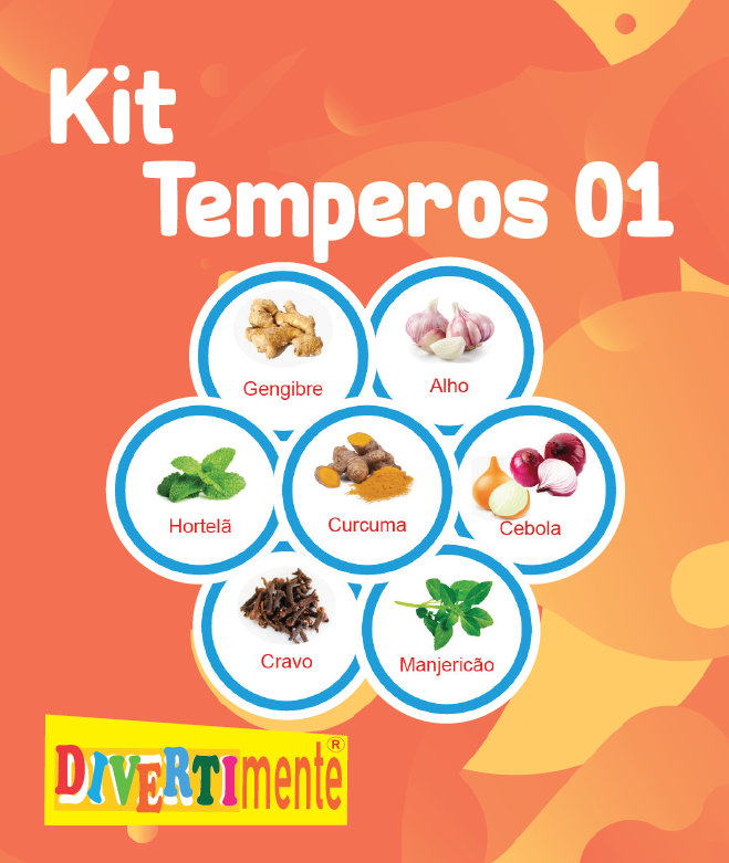 Kit Temperos   - Divertimente