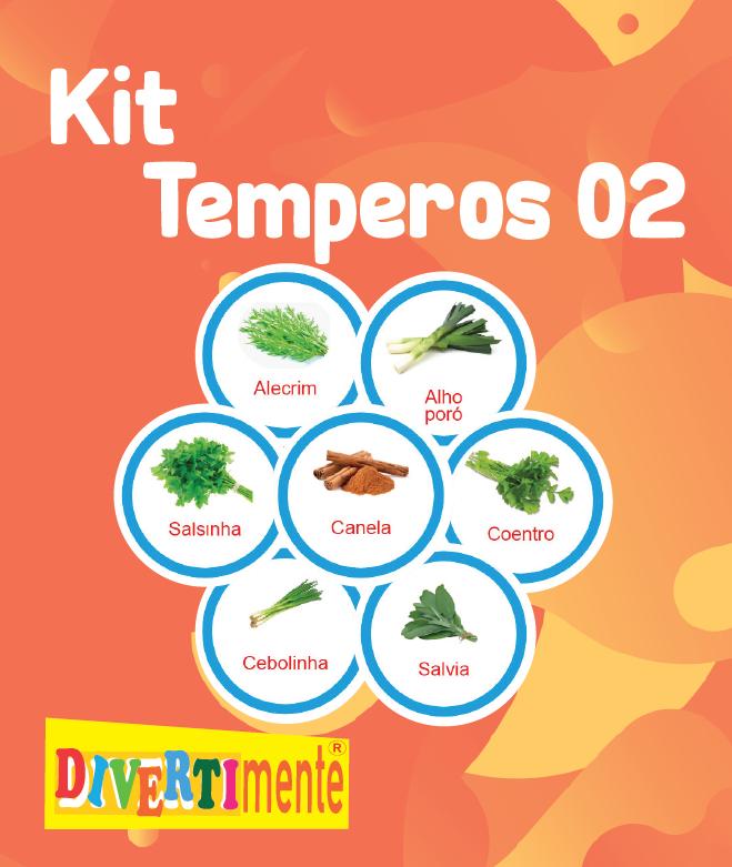 Kit Temperos 2   - Divertimente