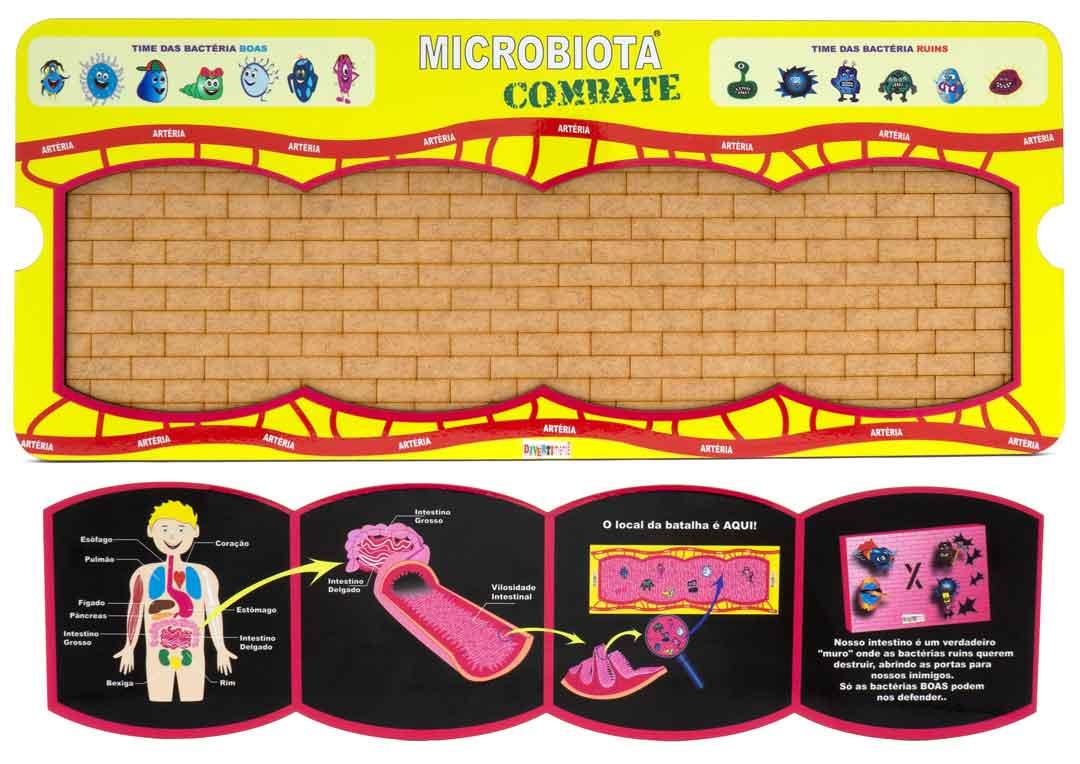 Microbiota Combate  - Divertimente