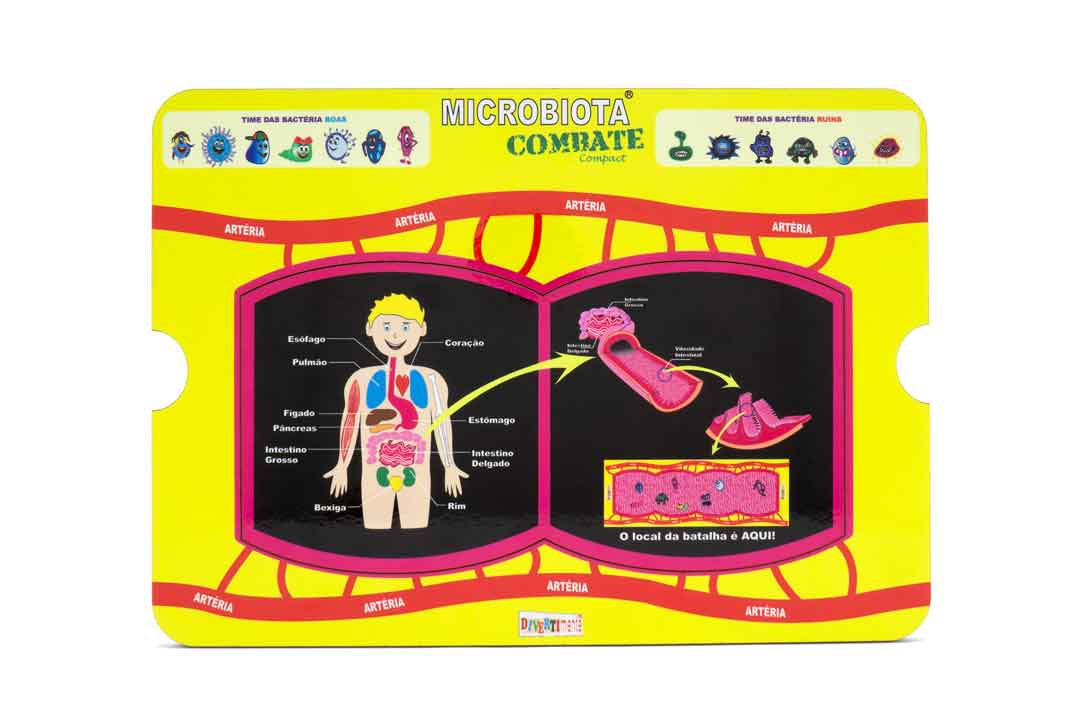 Microbiota Combate Compact  - Divertimente