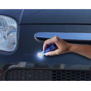 Kit Pincel Tira Risco De Retoque Automotivo com Luz de LED Ref. 1002