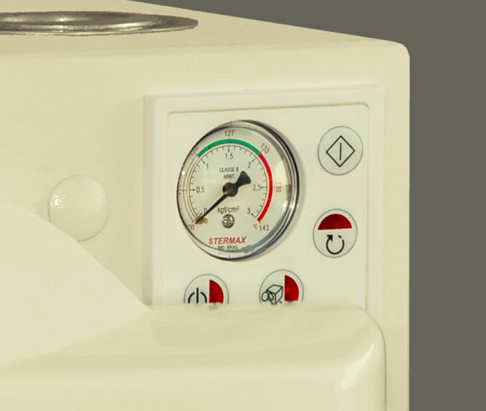 Autoclave Horizontal Analógica Stermax  - 12  Litros  (Ref. 7043)