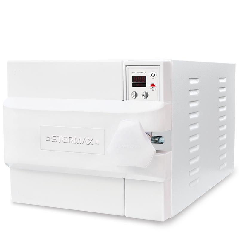 Autoclave Horizontal Led Stermax Box Extra  - 30  Litros  (Ref. 30 ASE)