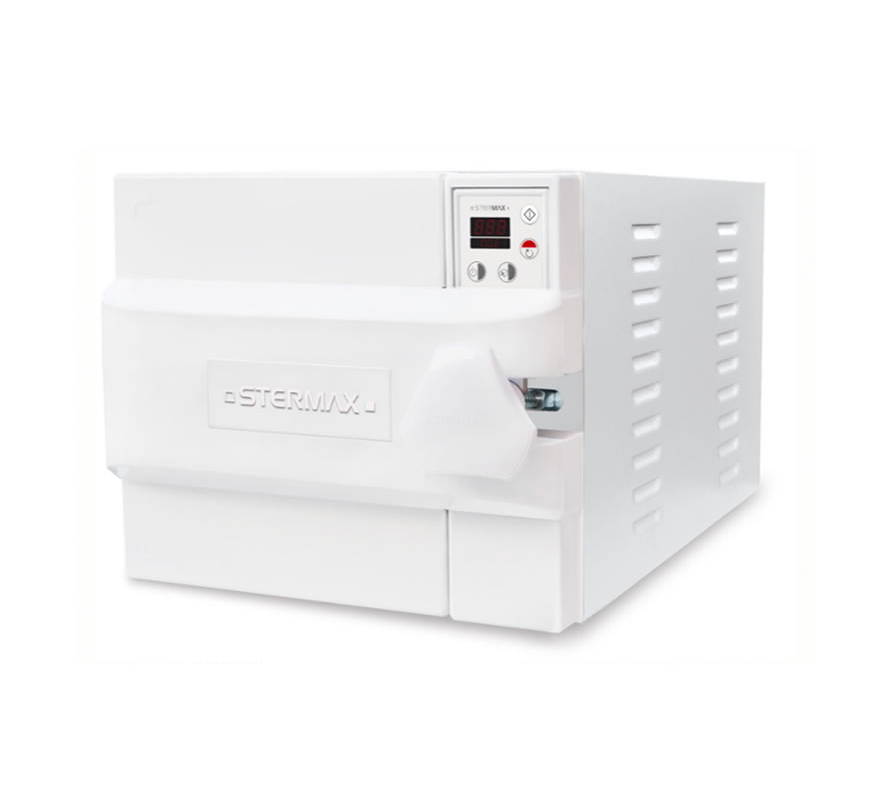 Autoclave Horizontal Led Stermax  Extra  - 40  Litros  (Ref. 40 ASE)