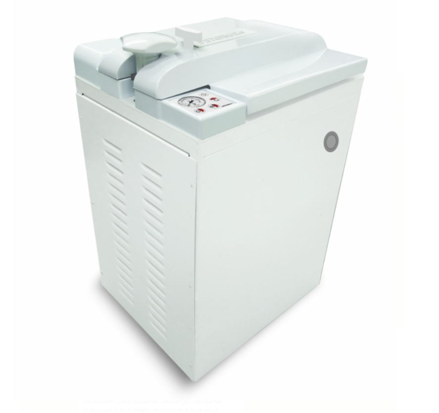 Autoclave Vertical Analógica  Stermax  - 60  Litros  (Ref. 60 AVA)