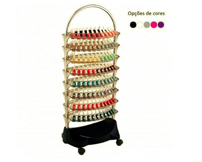 Carrinho Smaltbell Classic 8 bandejas Cromada - Dompel 794
