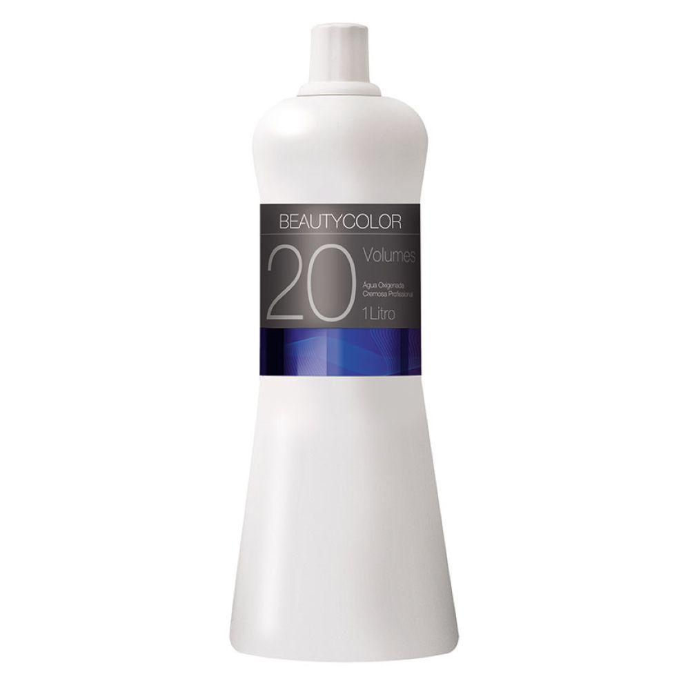 Água Oxigenada Beauty Color 1 Litro 20 Volumes