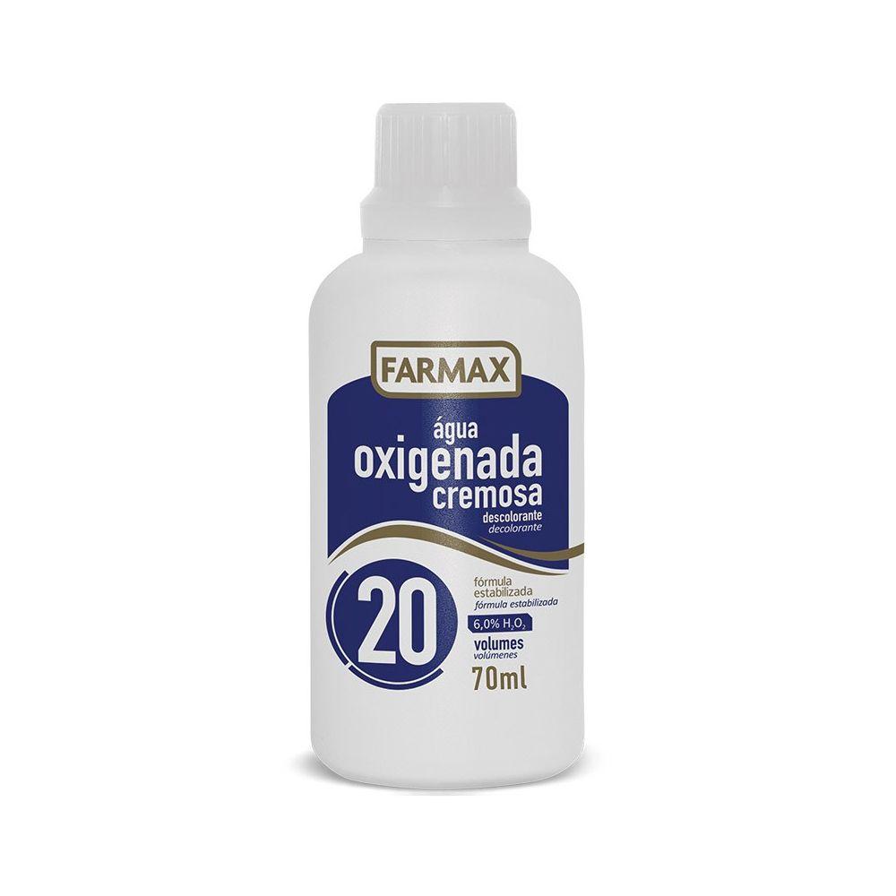 Água oxigenada Farmax 70ml 20 volumes