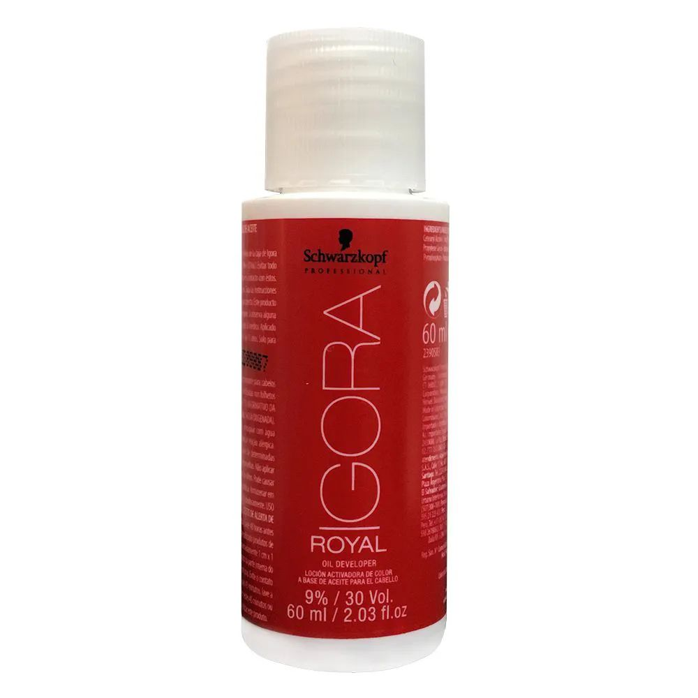 Água Oxigenada Igora Royal 30vol 60ml