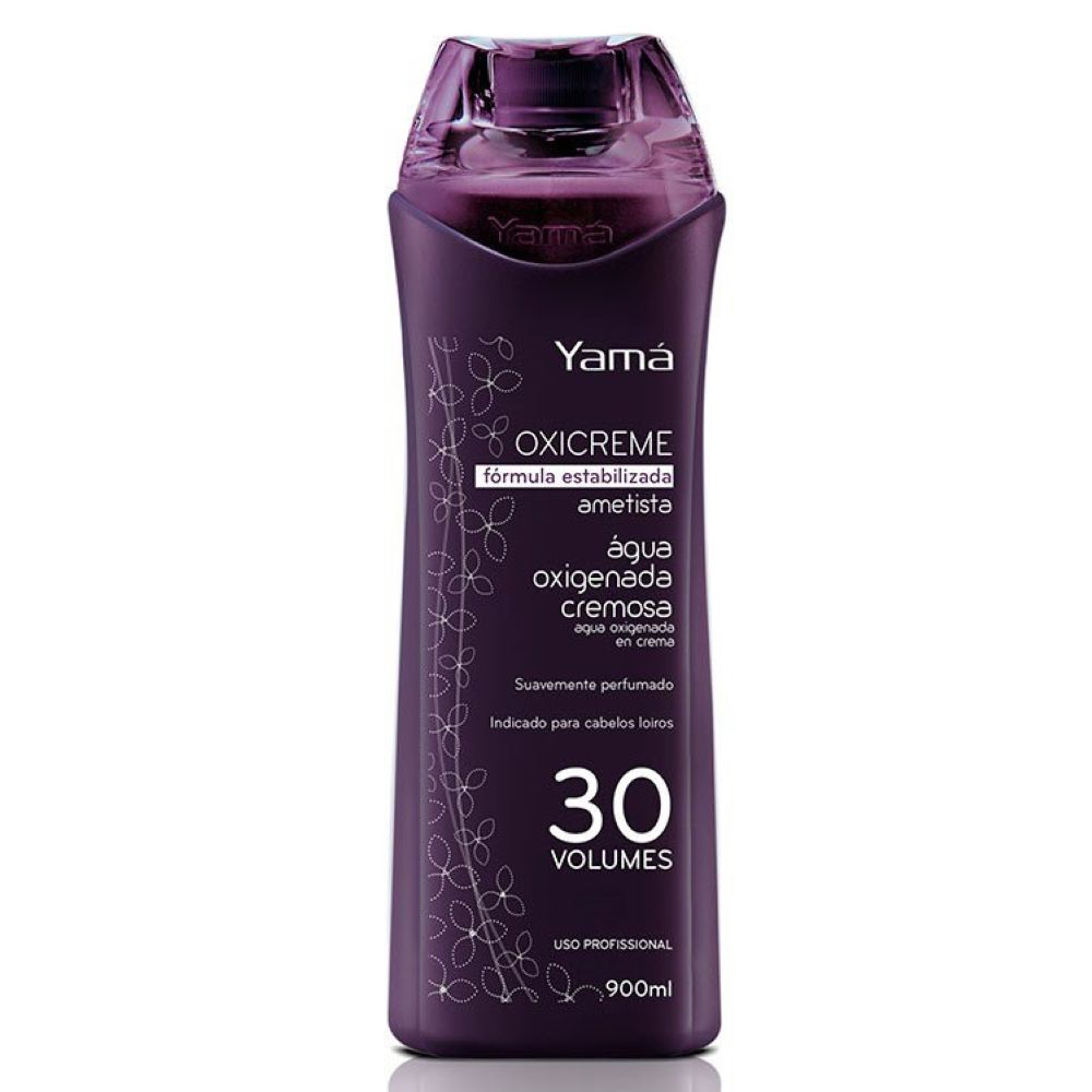 Água Oxigenada Yamá 900ml Ametista 30 Volumes