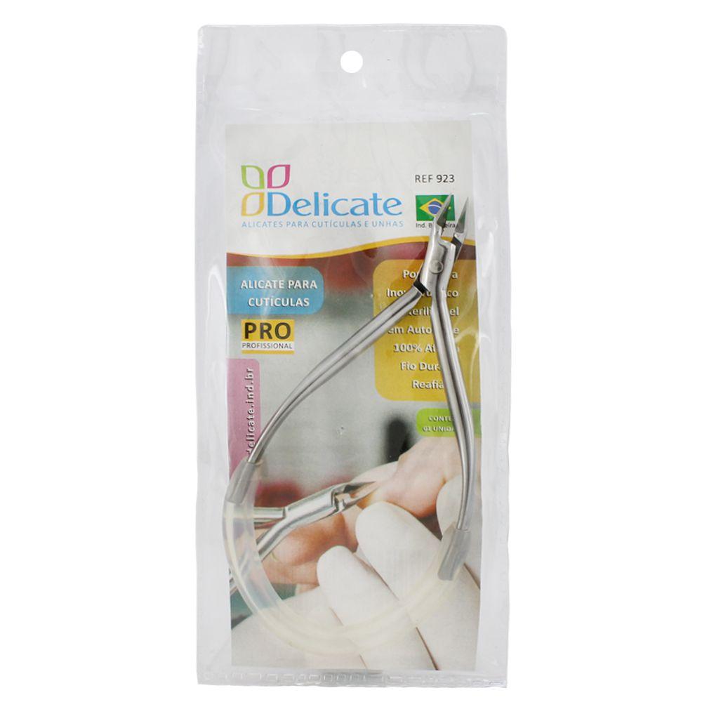 Alicate para Cutícula Delicate Profissional Inox 923