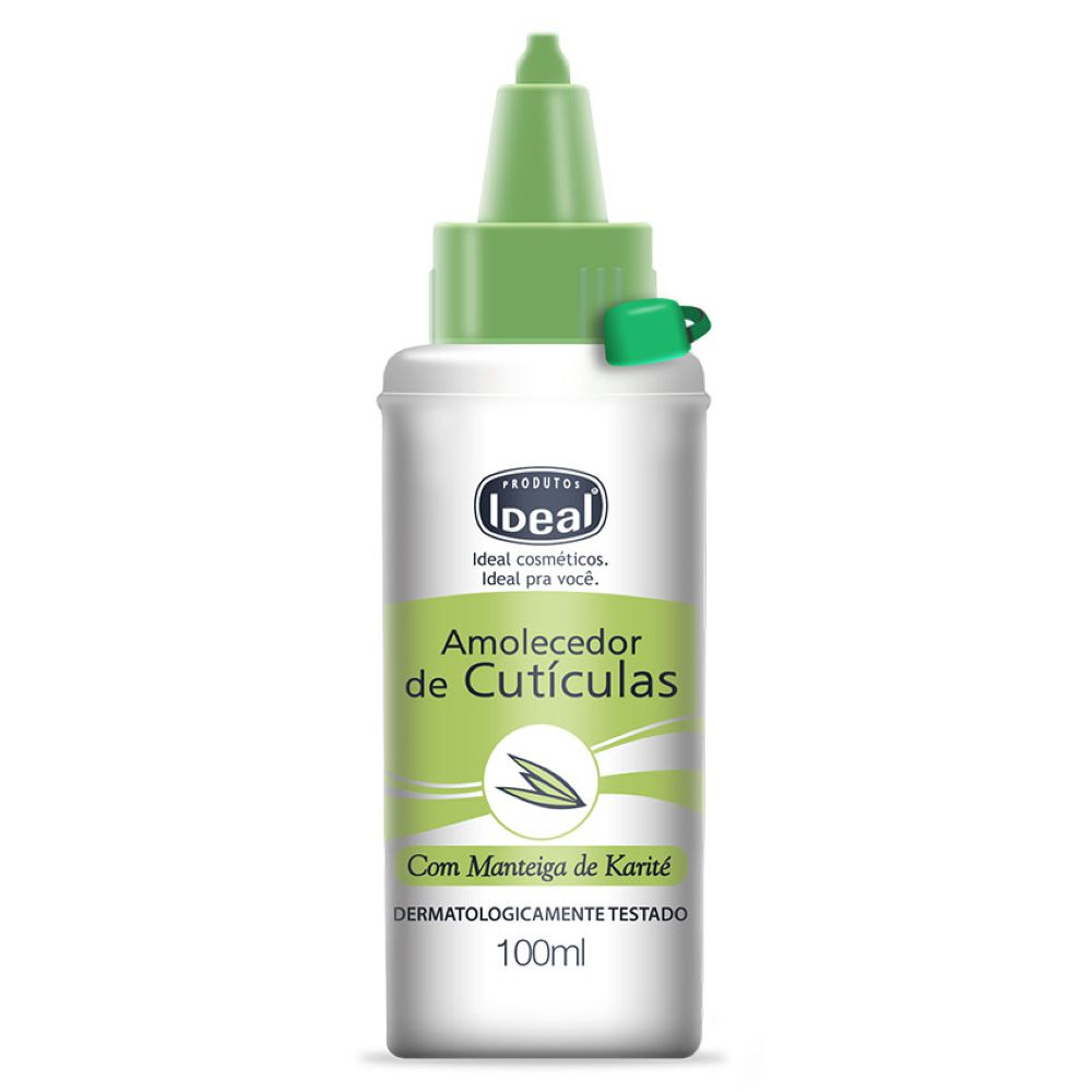 Amolecedor de Cutículas Ideal Manteiga de Karité 100ml