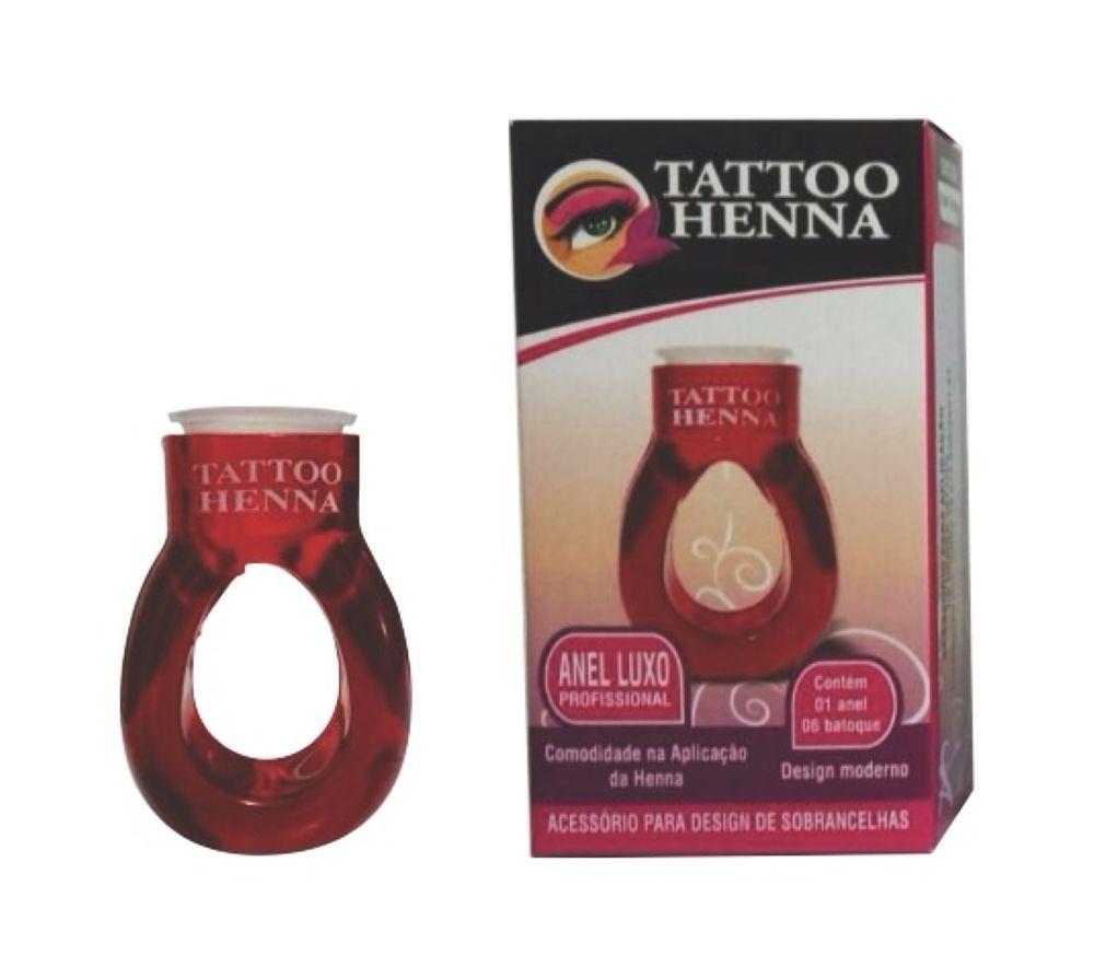 Anel Luxo Aplicador Profissional Tattoo Henna
