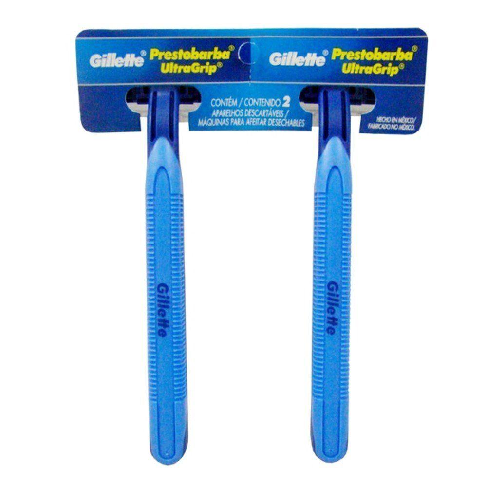 Aparelho de Barbear Gillette Prestobarba Ultragrip 2un