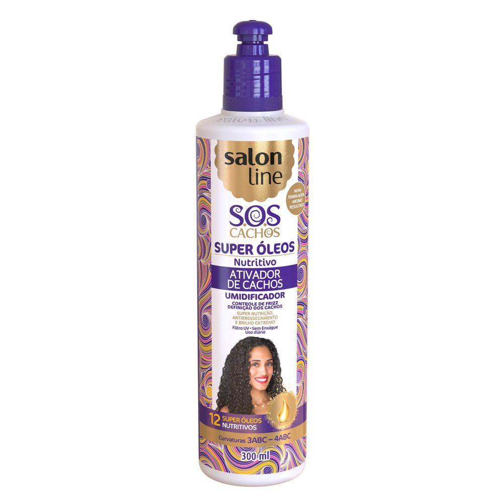 Ativador de Cachos Salon Line Nutritivo 300ml