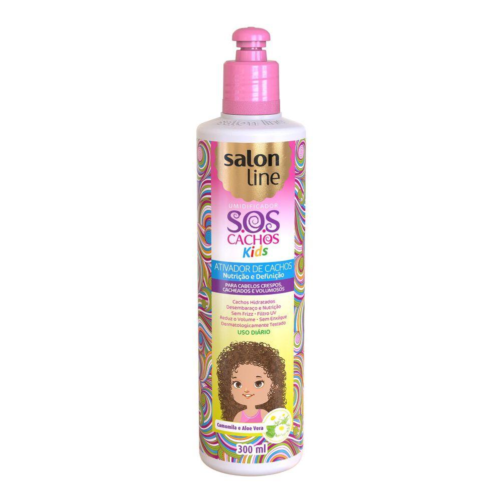Ativador de cachos Salon line SOS Cachos Kids 300ml