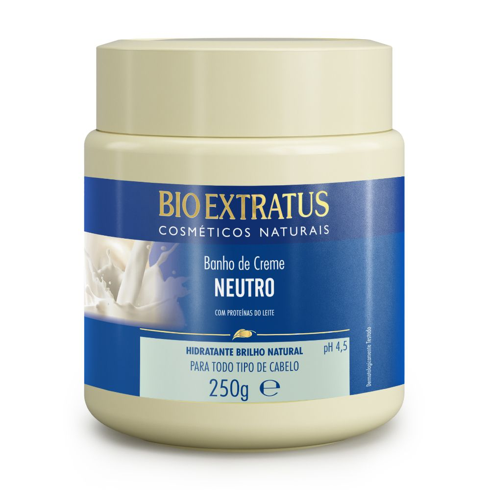 Banho de Creme Bio Extratus Neutro Proteínas do Leite 250g
