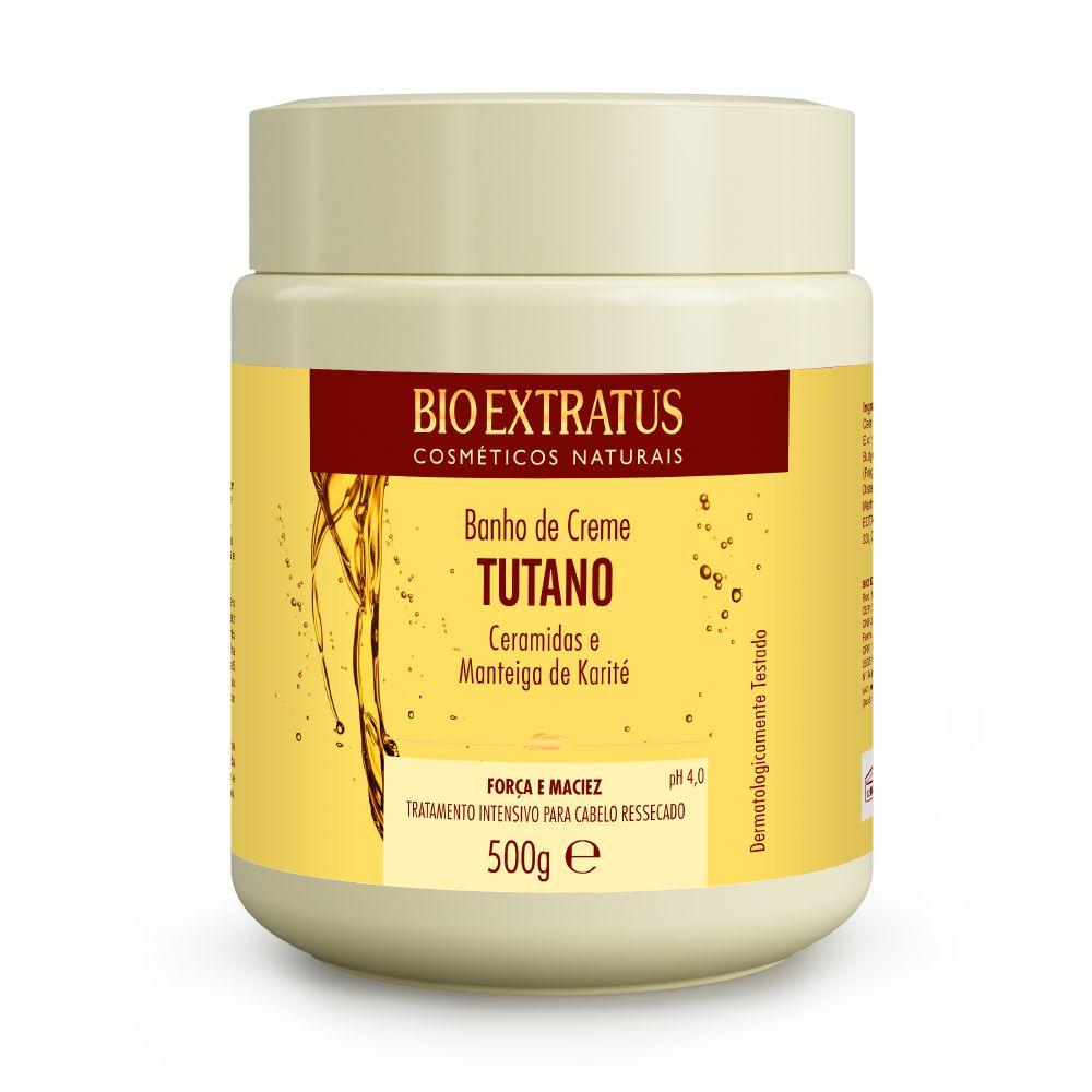Banho de Creme Bio Extratus Tutano Ceramidas e Manteiga de Karité 500g
