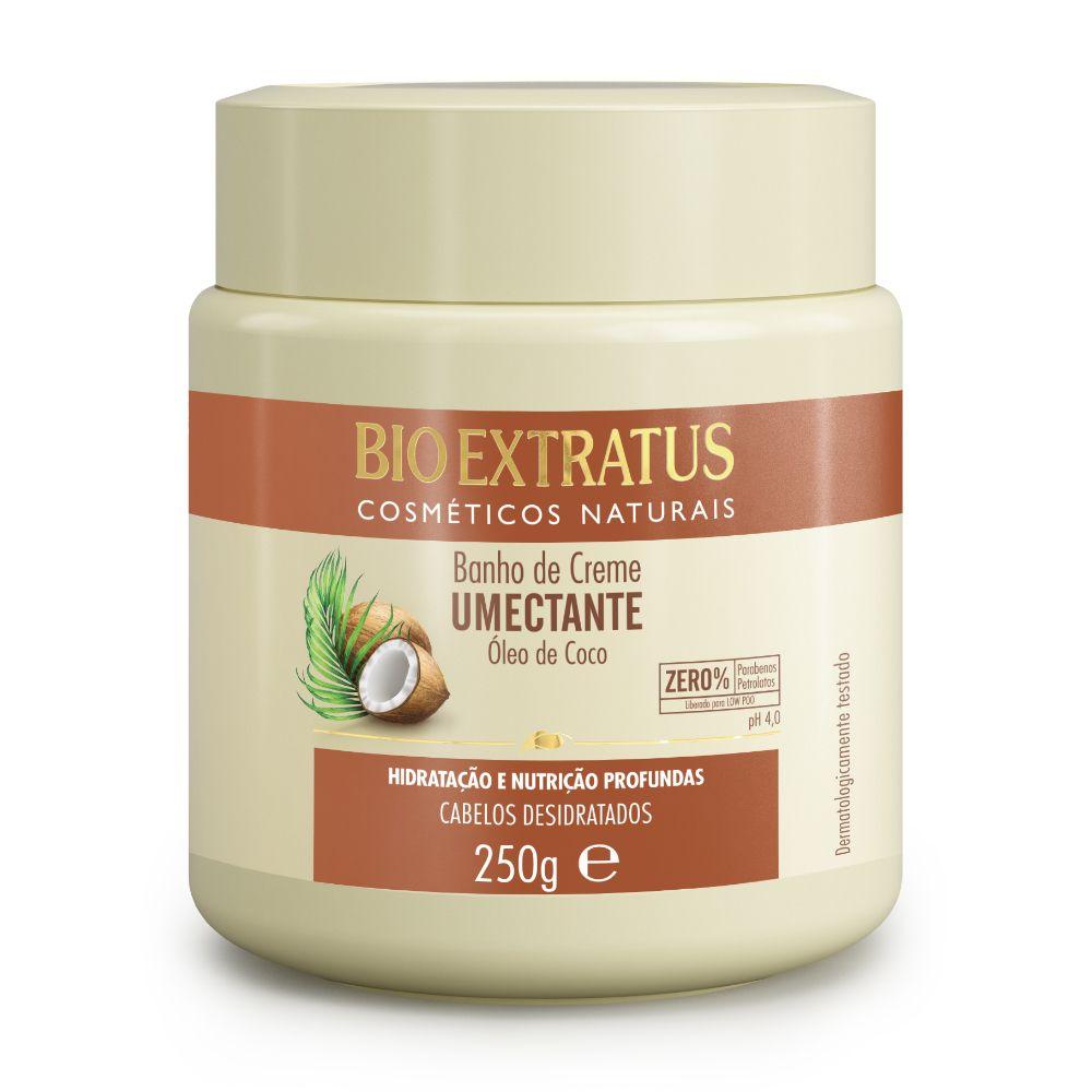 Banho de creme Bio Extratus Umectante Óleo de Coco 250g