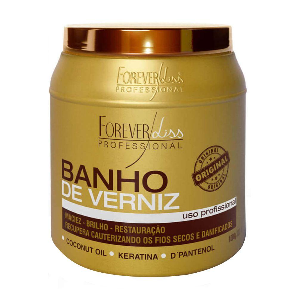 Banho de Verniz Forever Liss Brilho Hidratante 1000g