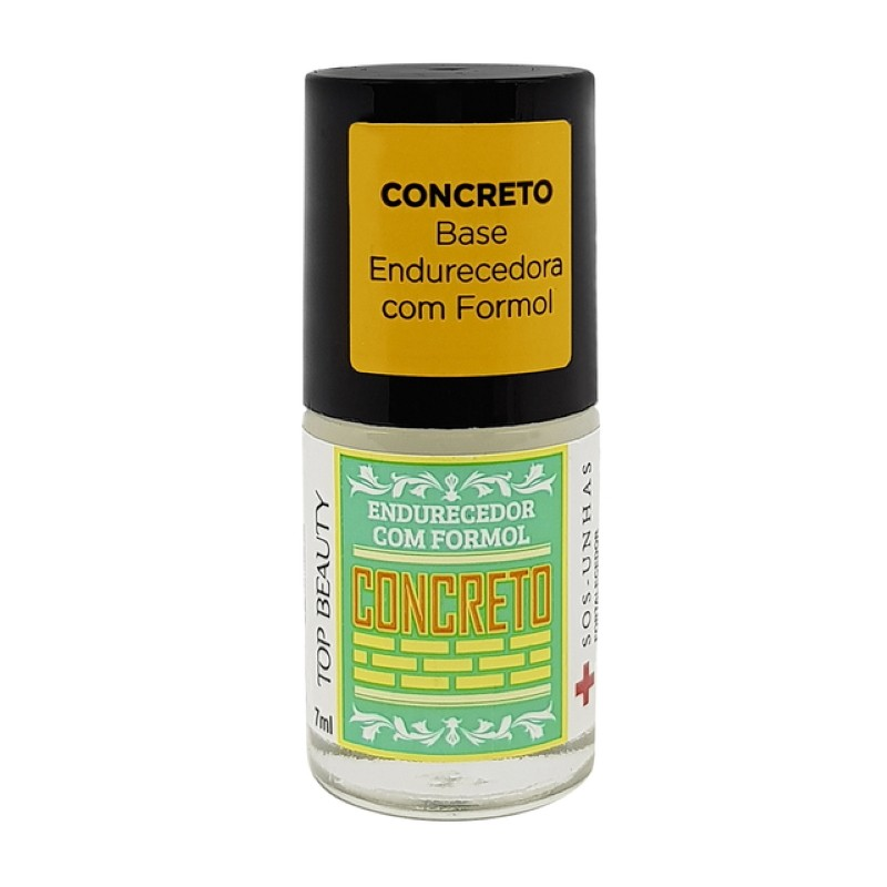 Base Concreto Endurecedor Formol Top Beauty