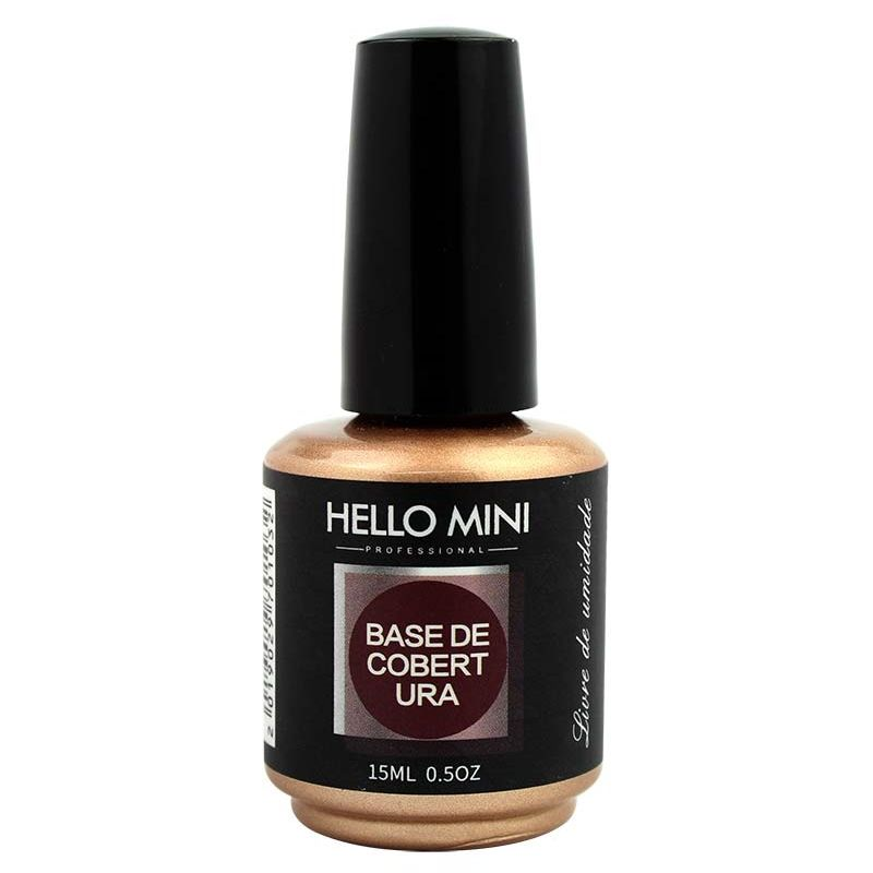 Base de Cobertura para unhas Hello Mini 15ml
