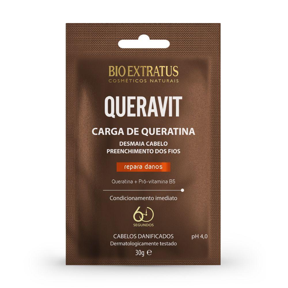 Carga de Queratina Bio Extratus Queravit Sache 30g