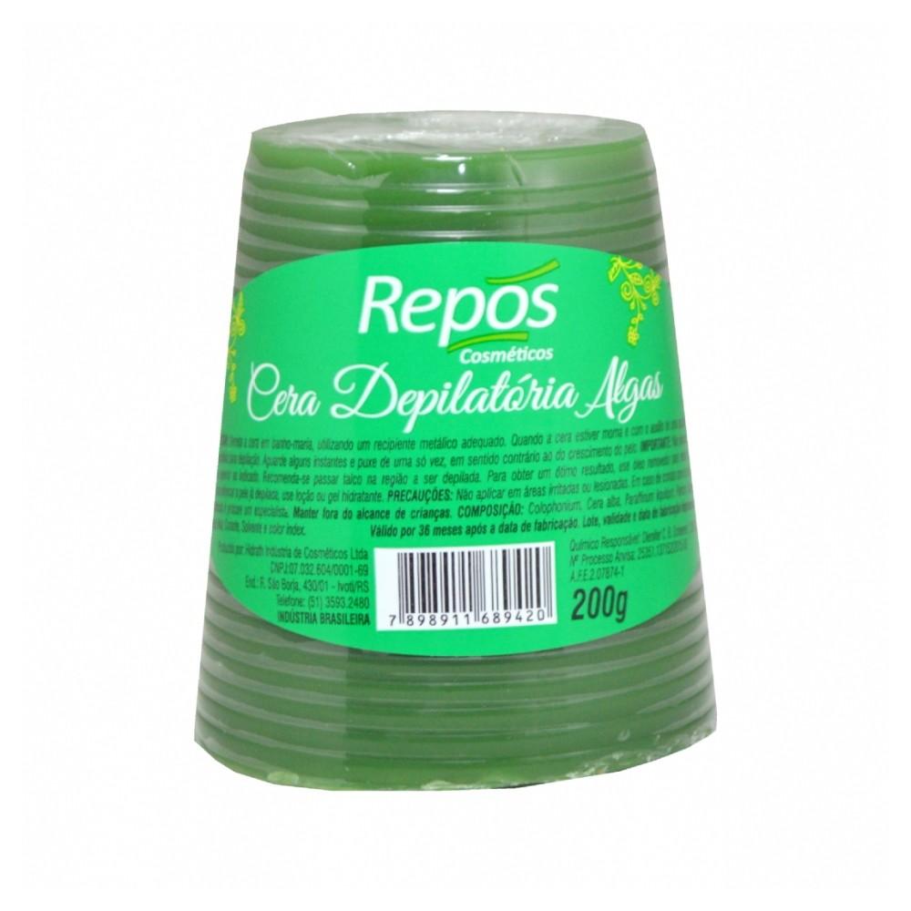 Cera Depilatória Algas Repos 200g