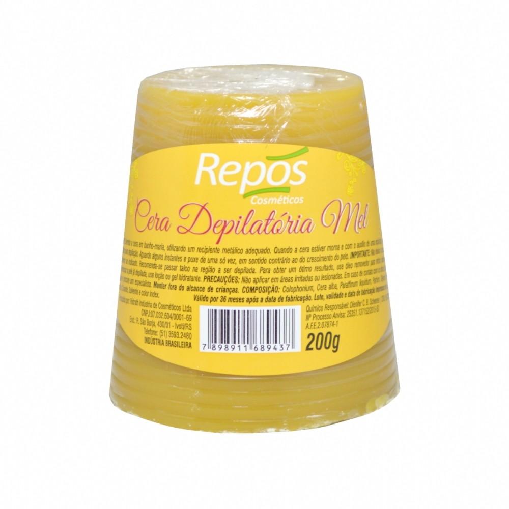 Cera Depilatória Mel Repos 200g