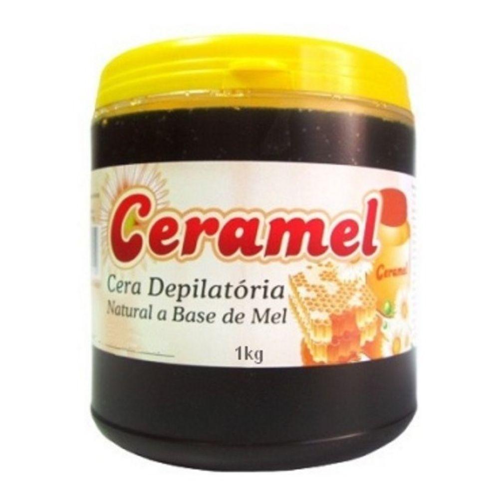 Cera Depilatória Natural Ceramel 1kg