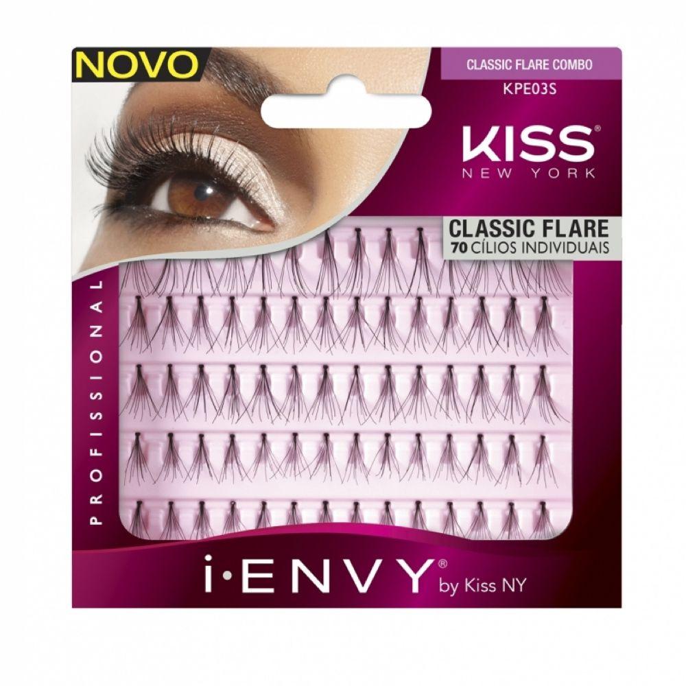Cílios Individuais First Kiss Tufos Classic Flare Combo KPE03S