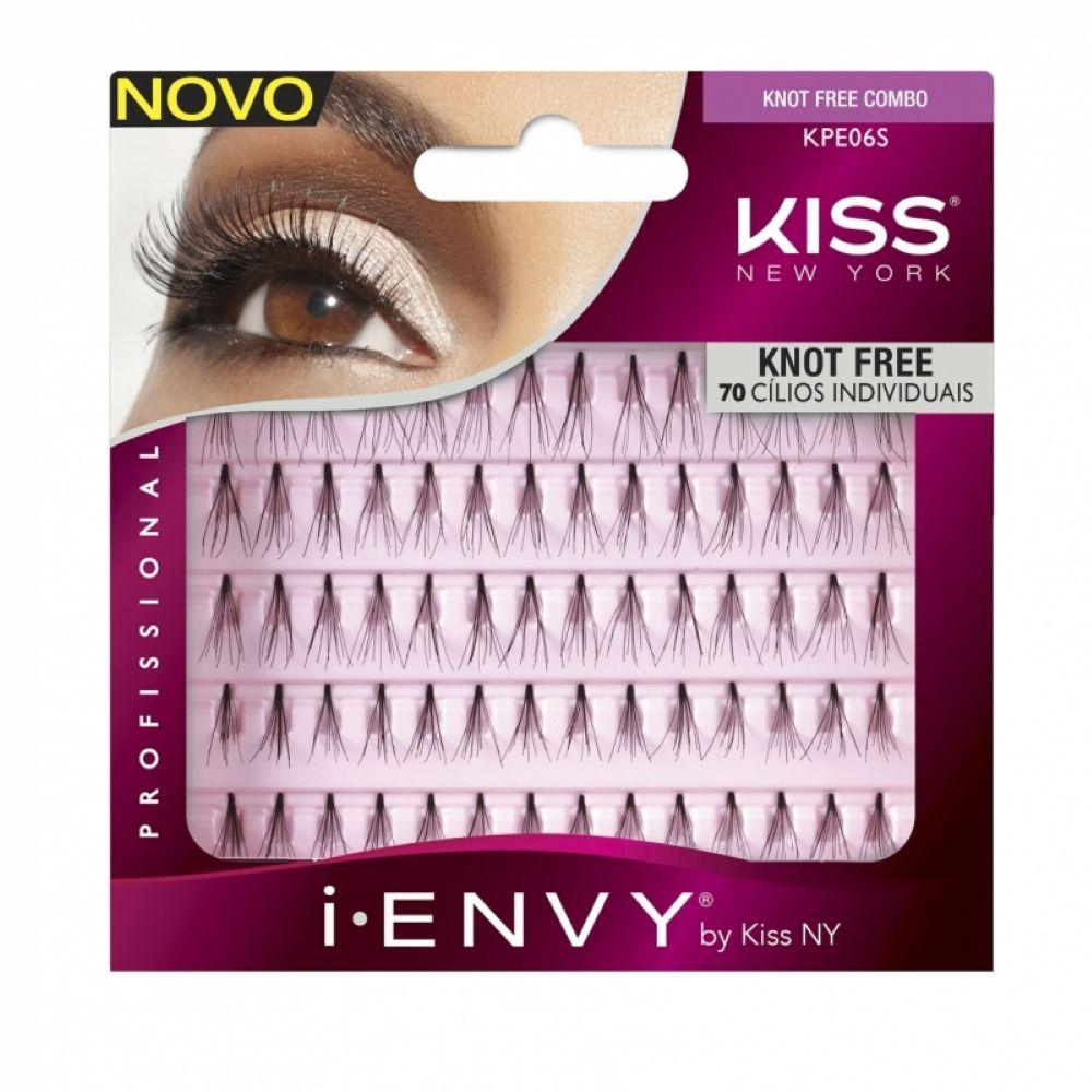 Cílios Individuais First Kiss Tufos Knot Free Combo KPE06S