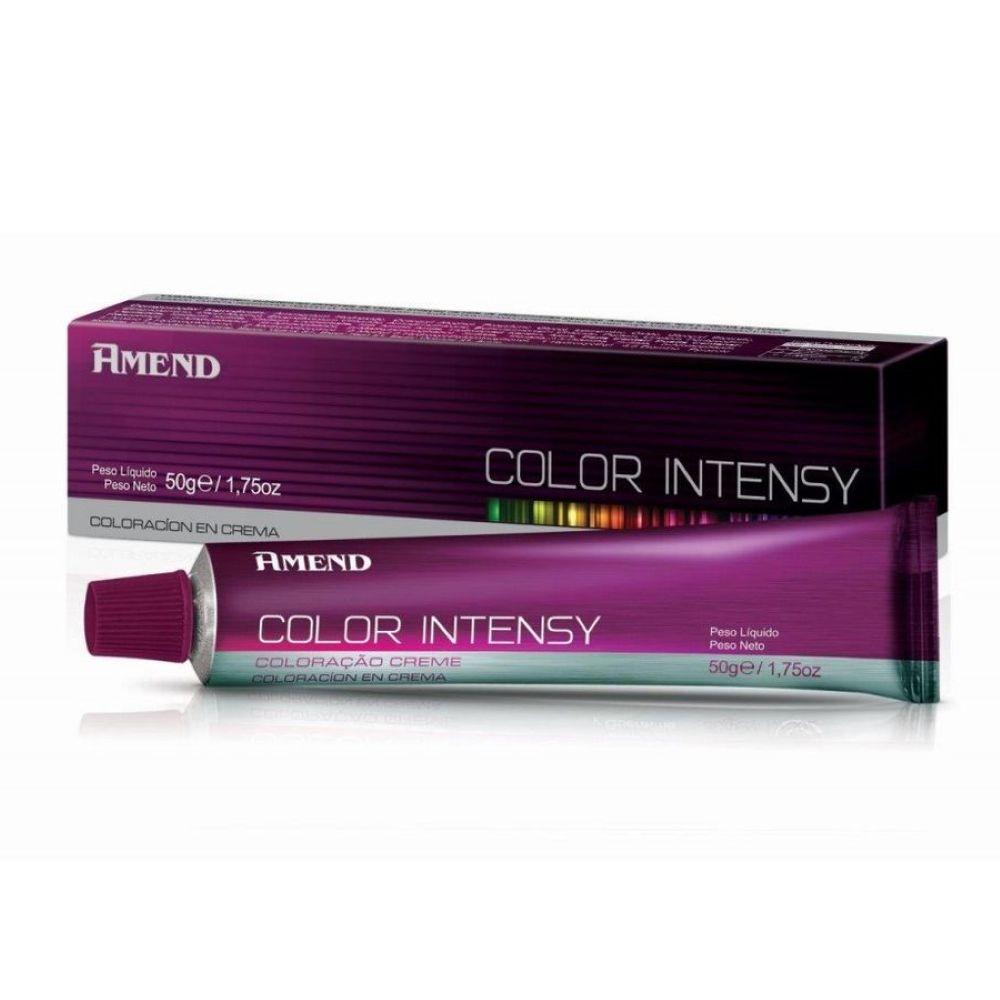 Coloração Amend Color Intensy 55.46 Castanho Claro Cobre Avermelhado Intenso - Amora