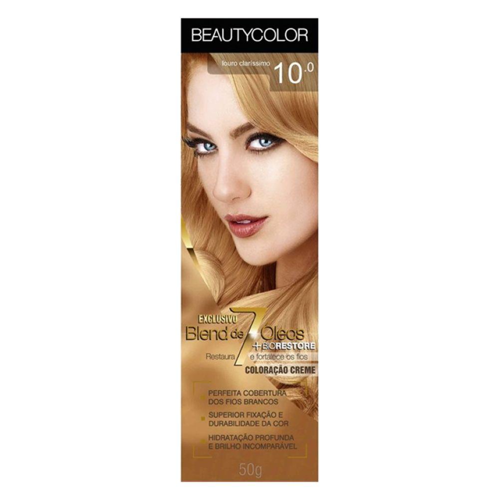 Coloração Beauty Color 10.0 Louro Claríssimo