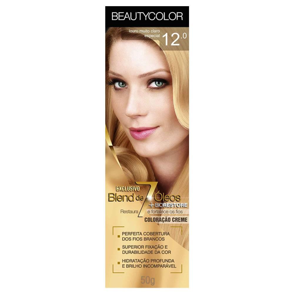 Coloração Beauty Color 12.0 Louro Muito Claro