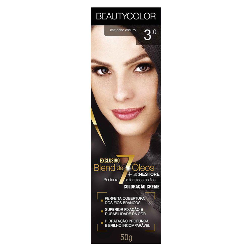 Coloração Beauty Color 3.0 Castanho Escuro
